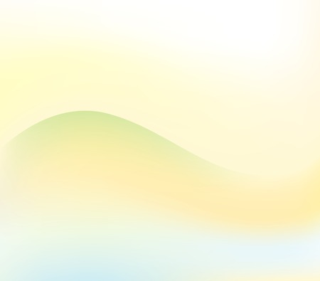 vector watercolour abstract landscape background Illustration