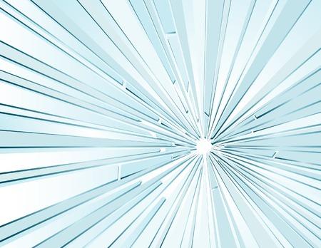 vector background with broken glass Vector