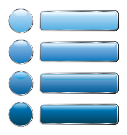 vector buttons for web and computing Stock Vector - 4994987