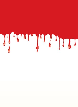 vector abstract layout with blood Vector