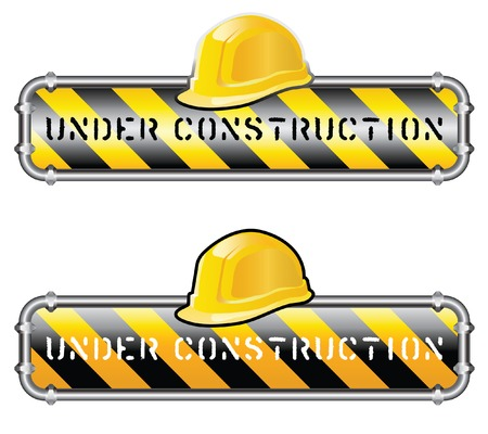 vector sign for site under construction Stock Vector - 5375648