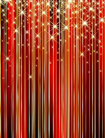 vector abstract wallpapet with strips and stars Vector