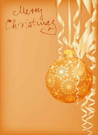 vector Christmas card Stock Vector - 6052206