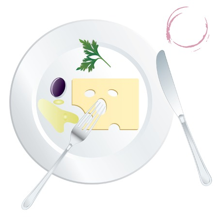 megabytes: vector food is very light and healthy (in megabytes and around), fully editable