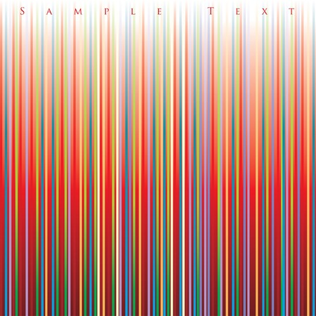 light streaks: striped layout Illustration