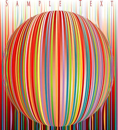 ball like: abstract ball like candy Illustration