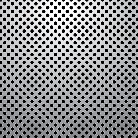 perforated: vector perforated metal plate Illustration