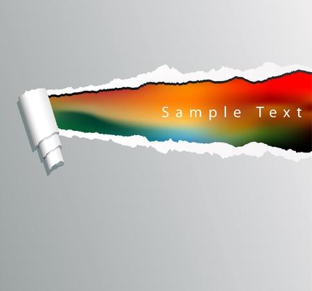 separato: sfondo con testo di esempio nel livello separato
