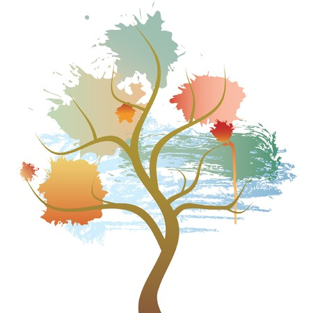 tree with stains Stock Vector - 6650233