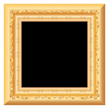 gilt:  baroque golden blank frame
