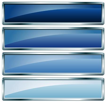 quadrant:  buttons in blue colors