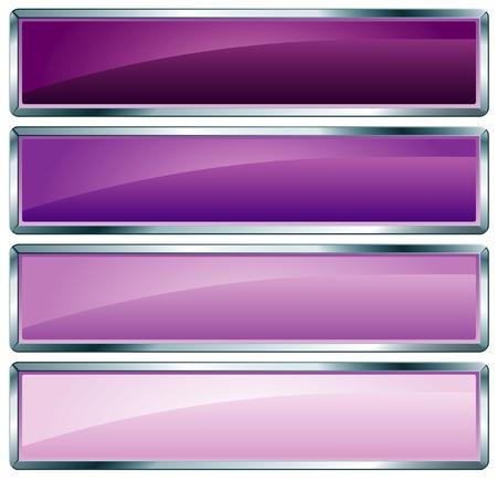 quadrant: buttons in violet colors