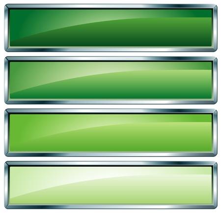 kwadrant:  przyciski w kolorach zielonym