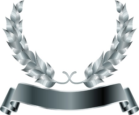 honours:  silver wreath Illustration