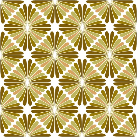 sixties:  retro seamless repeating wallpaper