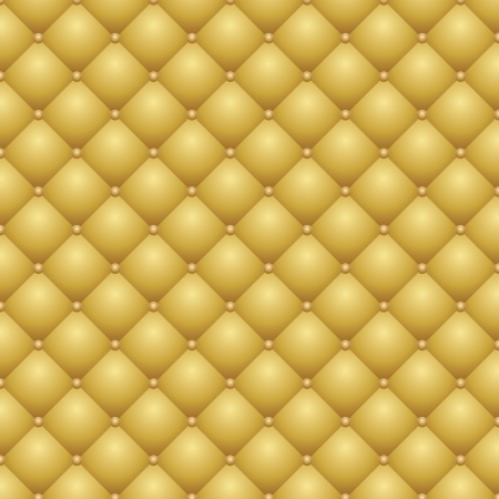 seamless repeating leather upholstery background Vector