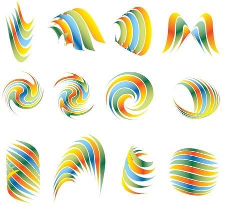 twelve: twelve abstract signs