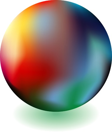 dramatic: abstract globe with dramatic atmosphere