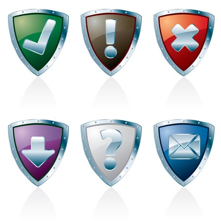 paraphernalia: shield buttons for web and computing
