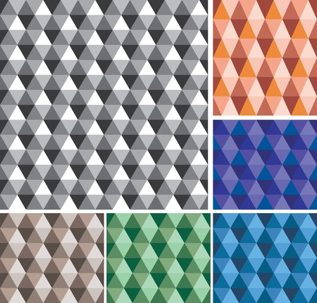 triangle pattern:  abstract geometric seamless repeating wallpaper