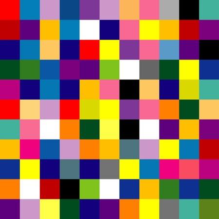 ripetizione di composizione astratto colore, senza soluzione di continuità