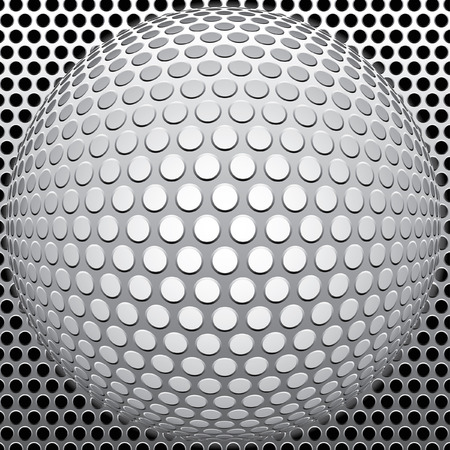 deformation:  metal background in three layers, fully editable