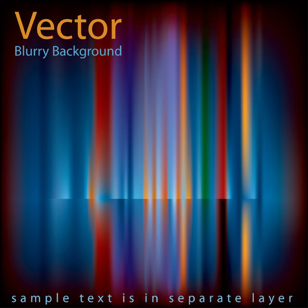 abstract background with colorful blurry vertical strips Vector
