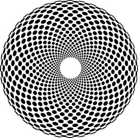 sea urchin:  abstract geometric structure like sea urchin