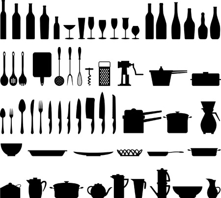 kitchen equipment Stock Vector - 7579497