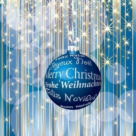 stripped christmas background  Vector
