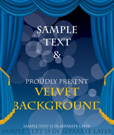 blue velvet:   layout for some abstract concert, movie, book or something else