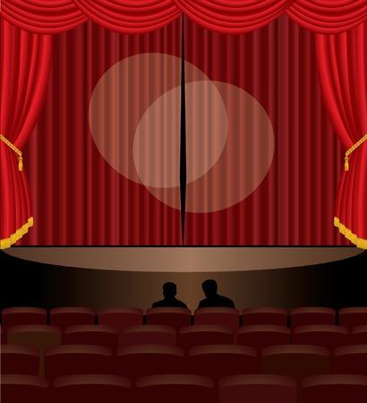 casting:   Abbildung der B�hne audition