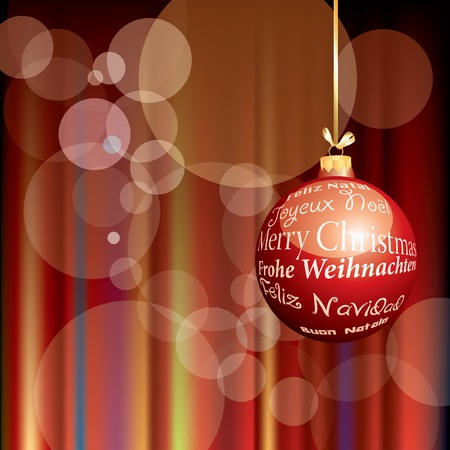 colorful Christmas holidays background  Vector