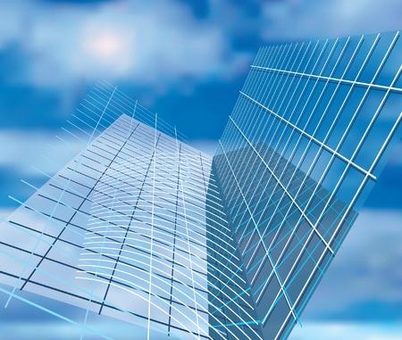 architectural elements: vector de fondo abstracto con elementos arquitect�nicos Vectores