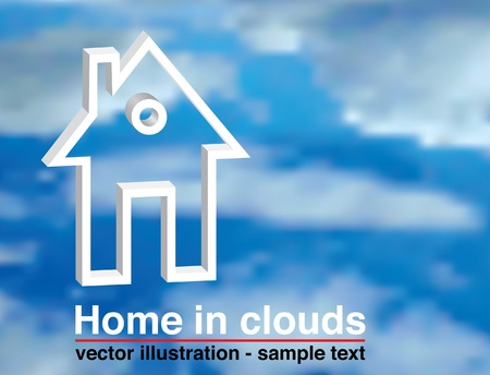vector template for real estate promotion Stock Vector - 10825243