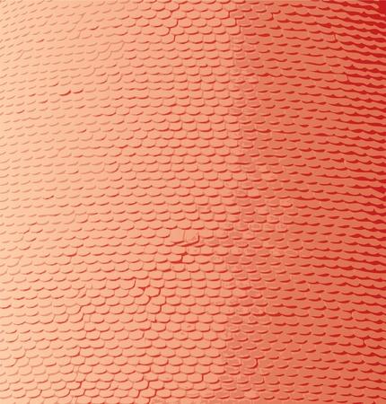 vector roofing tiles texture Stock Vector - 10825256