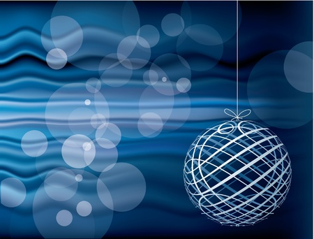 vector blue Christmas holidays background, layered and fully editable eps 10 file Vector