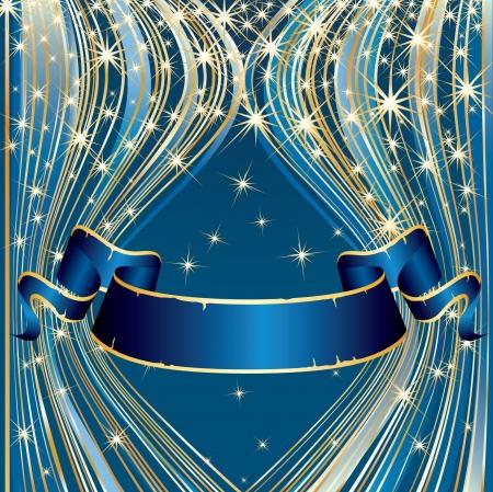 royal blue background: vector blank background for holidays or celebration