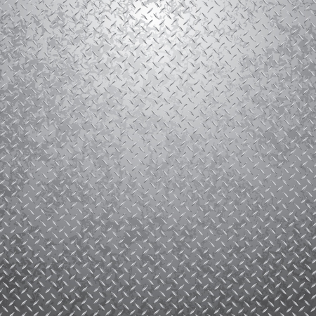 vector illustration of the grunge metal plate