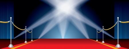 terciopelo azul: abri� etapa de ancho con cinco proyectores
