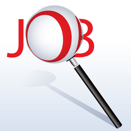 vector icon find job Vector