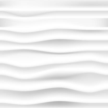 灰色の波と抽象的なシームレスな背景をベクトルします。 写真素材 - 24827129