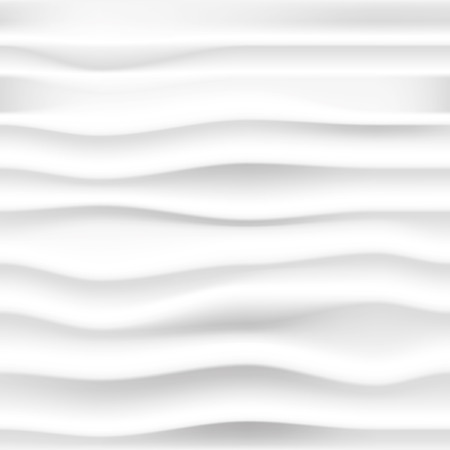 vector abstract seamless background with gray waves Çizim