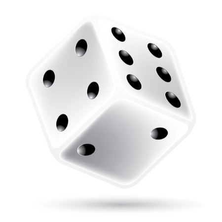dice: vector illustration of the dice