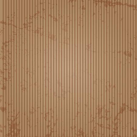 dirty brown cardboard
