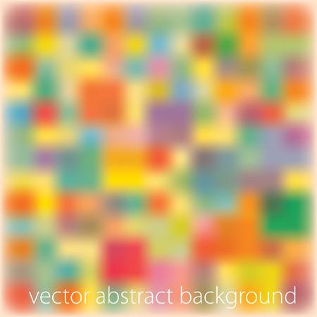 quadrati astratti: vettoriale quadrato astratto sfondo sfocato