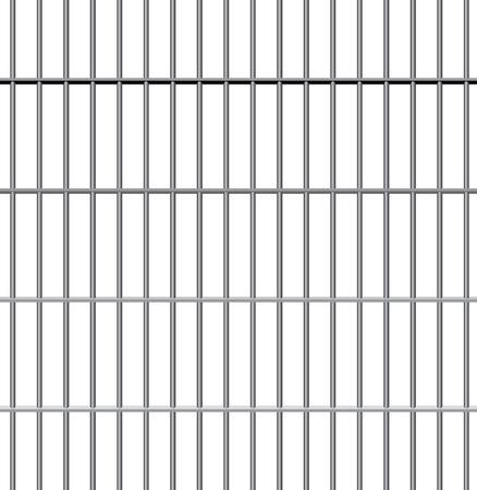 rejas de hierro: barras de la cárcel de vectores