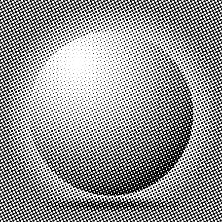 vector sphere dotted Vector
