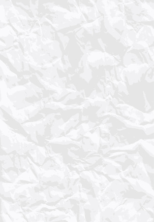 beaten: background with wrinkled white paper