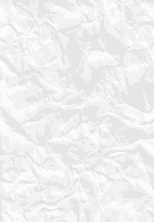 battu: fond de papier blanc froiss�